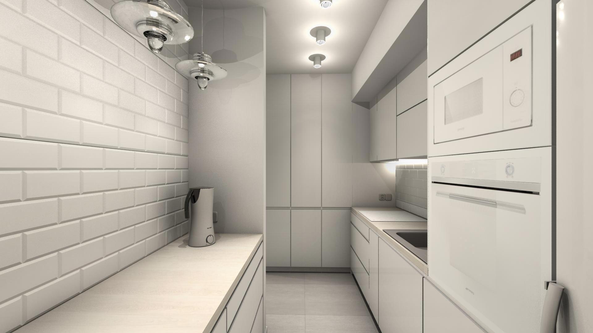 Białe mieszkanie z loftową nutą w Mikołowie - Magdalena Sidor