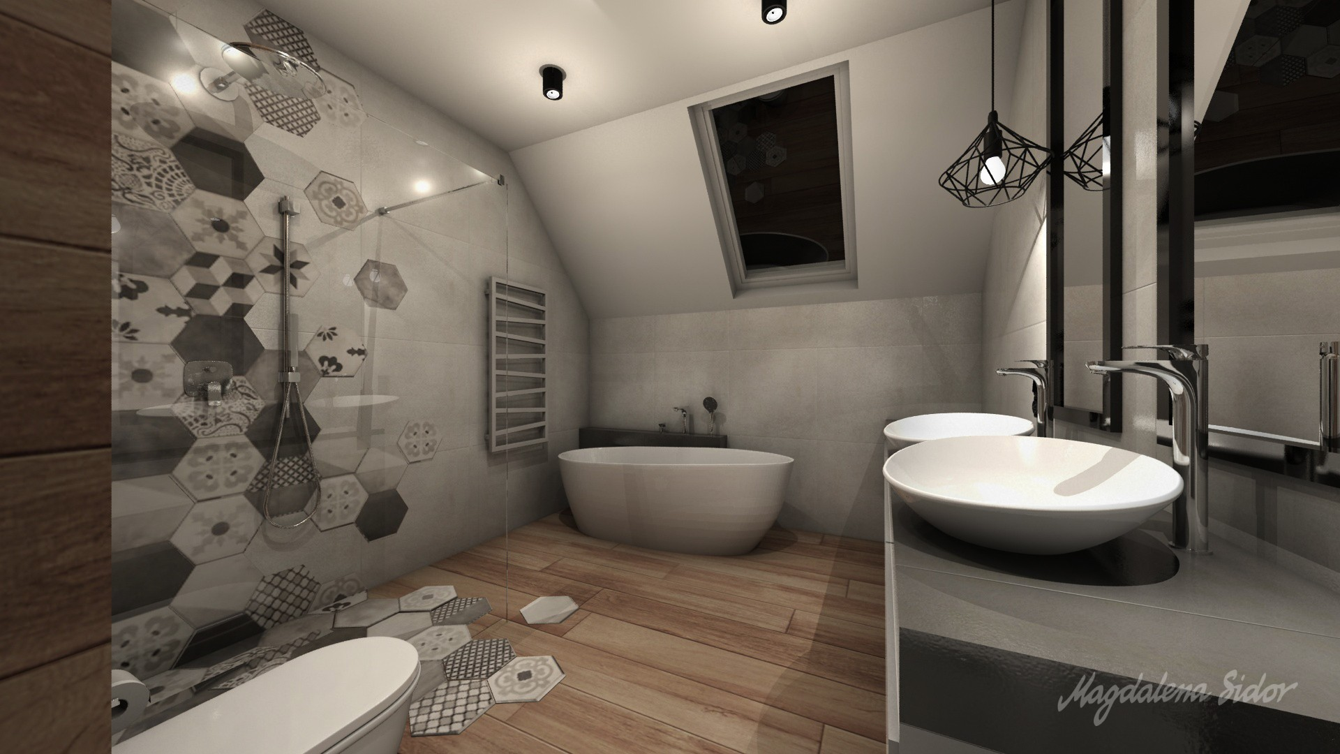 Granat łazienki 5 Magdalena Sidor