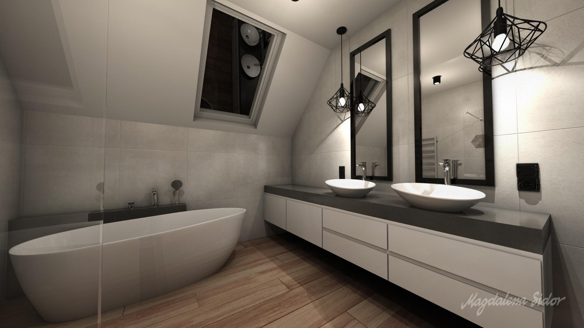 Granat łazienki 6 Magdalena Sidor