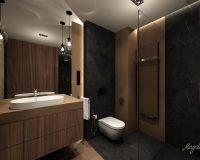 Nowoczesny dom w Mikołowie - łazienka