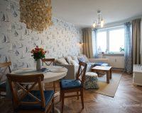 Jak w domku na plaży - morskie akcenty w mieszkaniu w Katowicach