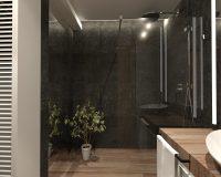 Mieszkanie w Dąbrowie Górniczej - łazienka
