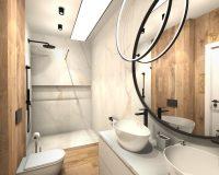 Szeregówka w Będzinie - łazienka