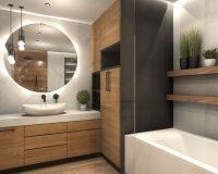 Apartament w Gliwicach - łazienka