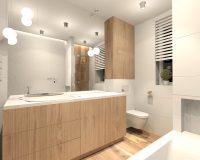 Dom w bieli w Mikołowie - łazienka