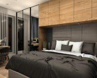 Apartament w Gliwicach - sypialnia