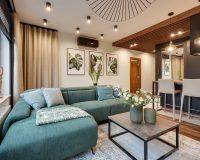 REALIZACJA - apartament  w kolorach ziemi